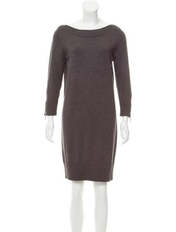 Michael Kors Long Sleeve Sweater Dress w/ Tags None