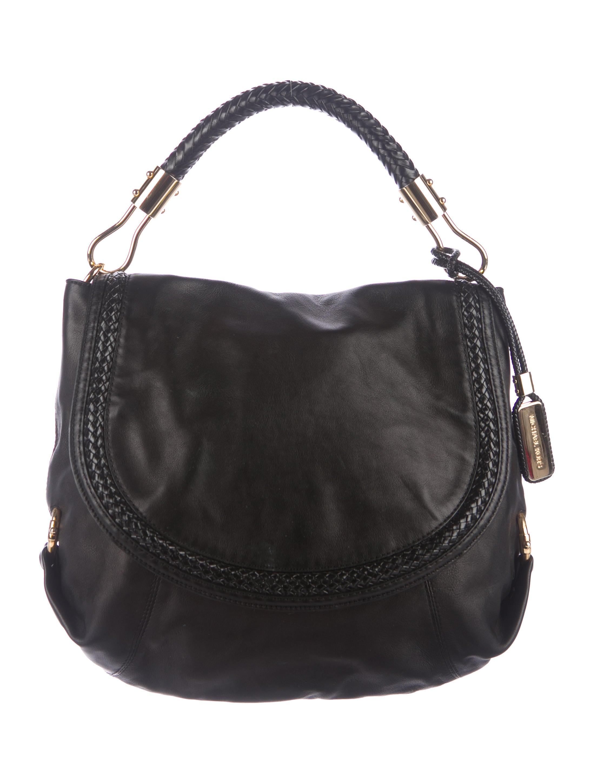 01b483587426 Michael Kors Skorpios Leather Flap Bag - Handbags - MIC54840 | The ...