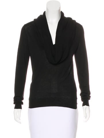 Michael Kors Cowl Neck Knit Sweater None