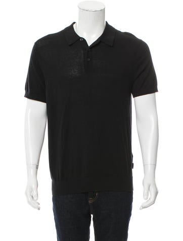 Michael Kors Knit Polo Shirt None