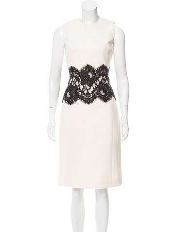 Michael Kors Wool Dress None