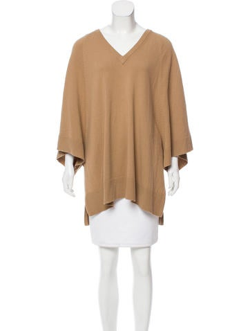 Michael Kors Oversize Wool & Cashmere-Blend Sweater None