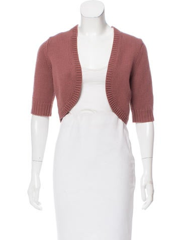 Michael Kors Open Front Knit Shrug None