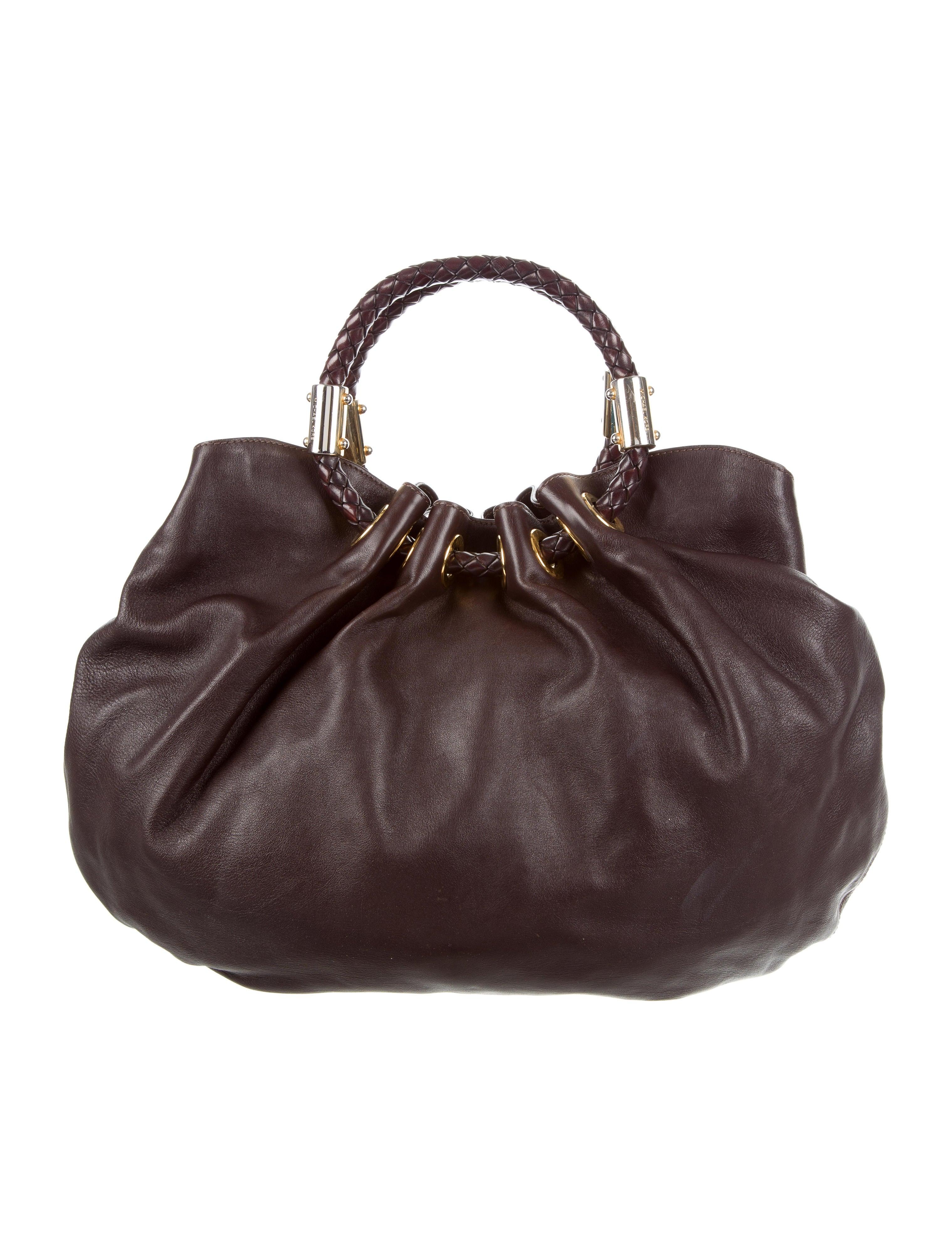 0b83fb0904c4 Michael Kors Skorpios Leather Hobo - Handbags - MIC55464 | The RealReal