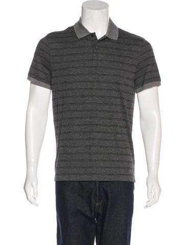 Michael Kors Striped Polo Shirt w/ Tags None