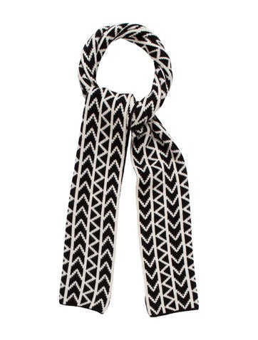 Michael Kors Patterned Cashmere Scarf None