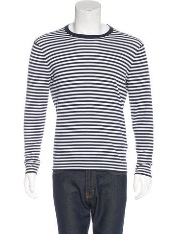 Michael Kors Striped Knit Sweater None