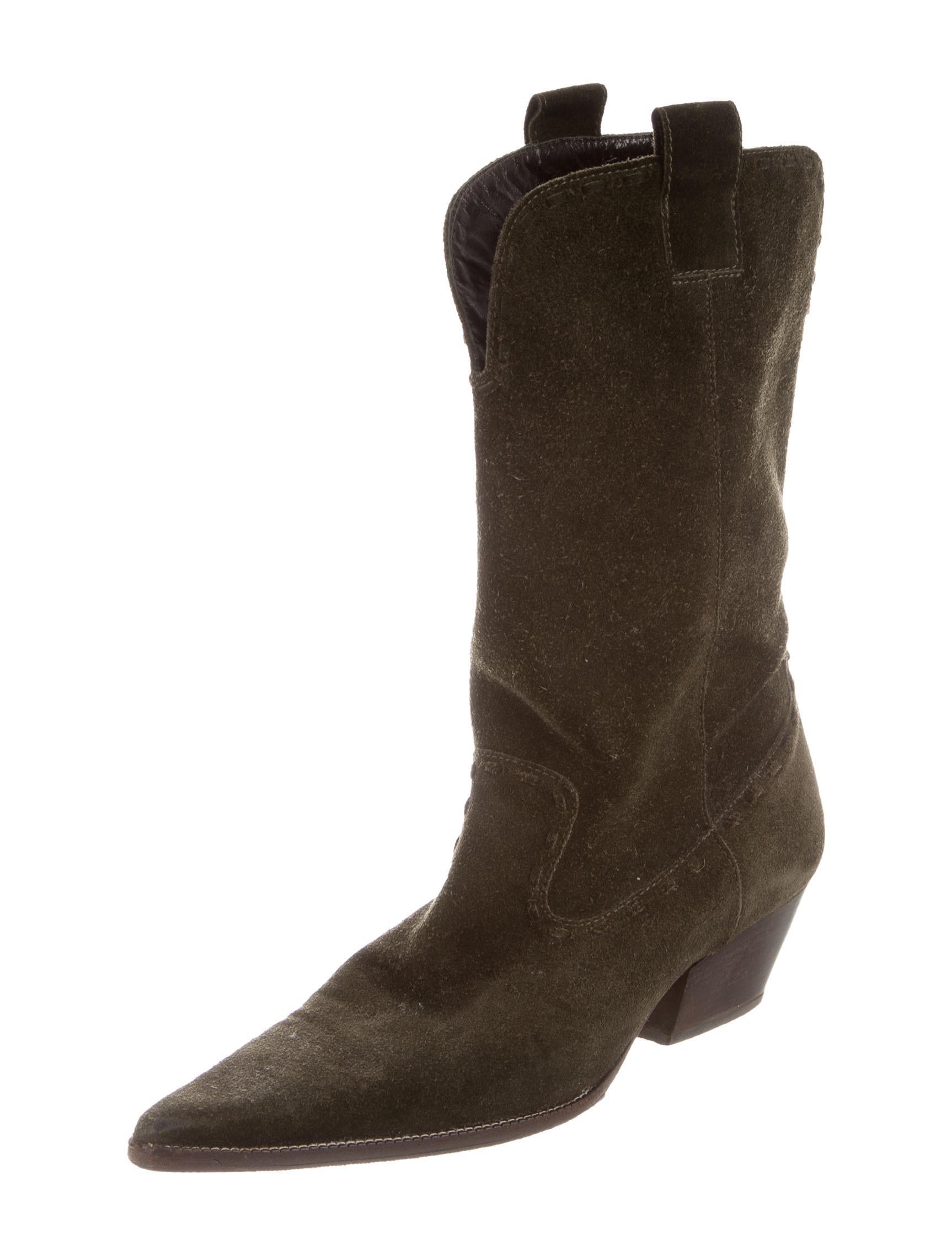 michael kors suede mid calf boots shoes mic55986 the