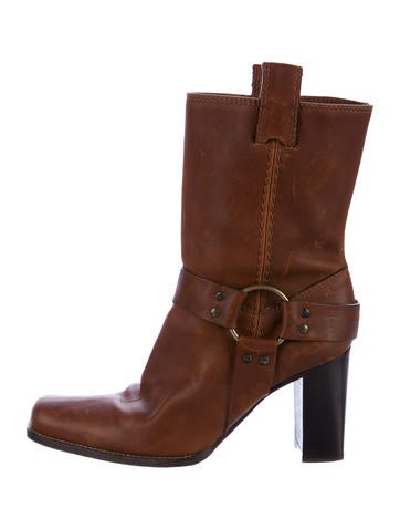 Michael Kors Leather Ankle Boots None