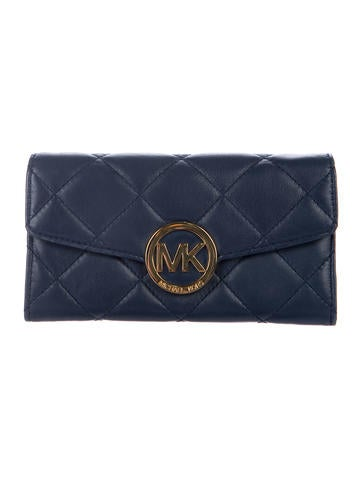 Michael Kors Quilted Leather Wallet None