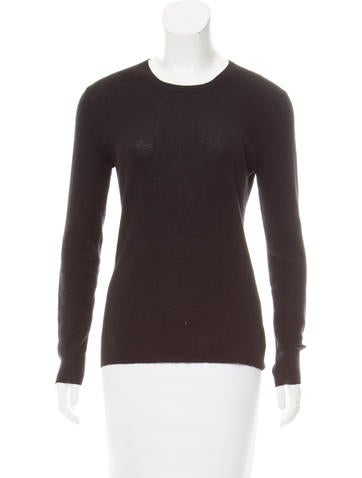 Michael Kors Long Sleeve Cashmere Top None