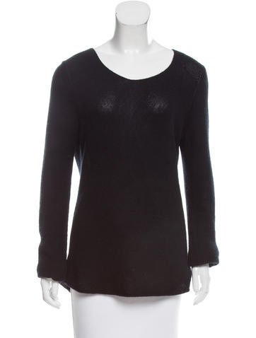 Michael Kors Bias Bateau Neck Sweater None