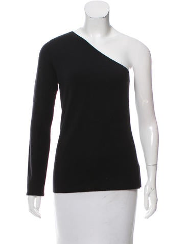 Michael Kors Cashmere One-Shoulder Sweater w/ Tags None