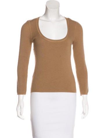 Michael Kors Knit Cashmere Top None