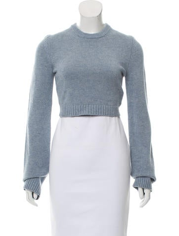 Michael Kors Cashmere Crop Sweater w/ Tags None