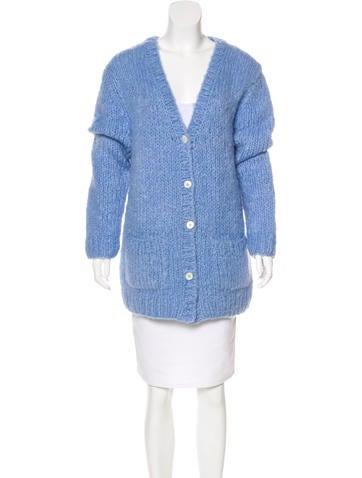 Michael Kors Long Sleeve Knit Cardigan None