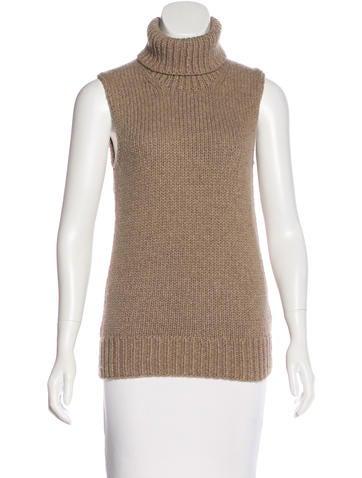 Michael Kors Sleeveless Cashmere Sweater None