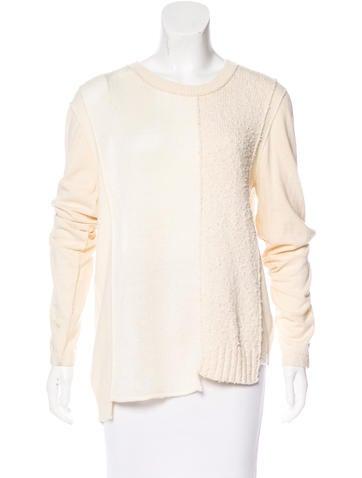 Michael Kors Scoop Neck Long Sleeve Sweater None