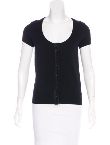 Michael Kors Cashmere Short Sleeve Top w/ Tags None