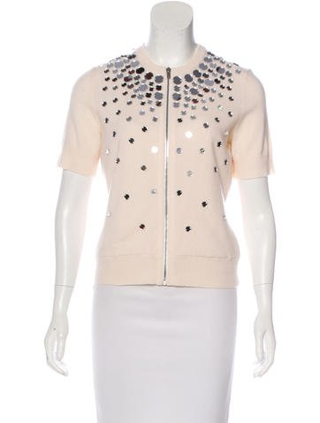 Michael Kors Cashmere Embellished Top w/ Tags None