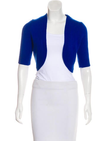 Michael Kors Knit Cropped Cardigan None