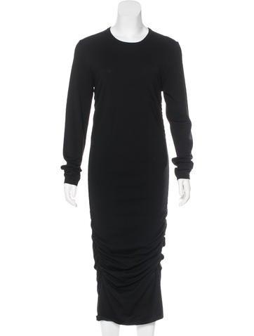 Michael Kors Ruched Maxi Dress None