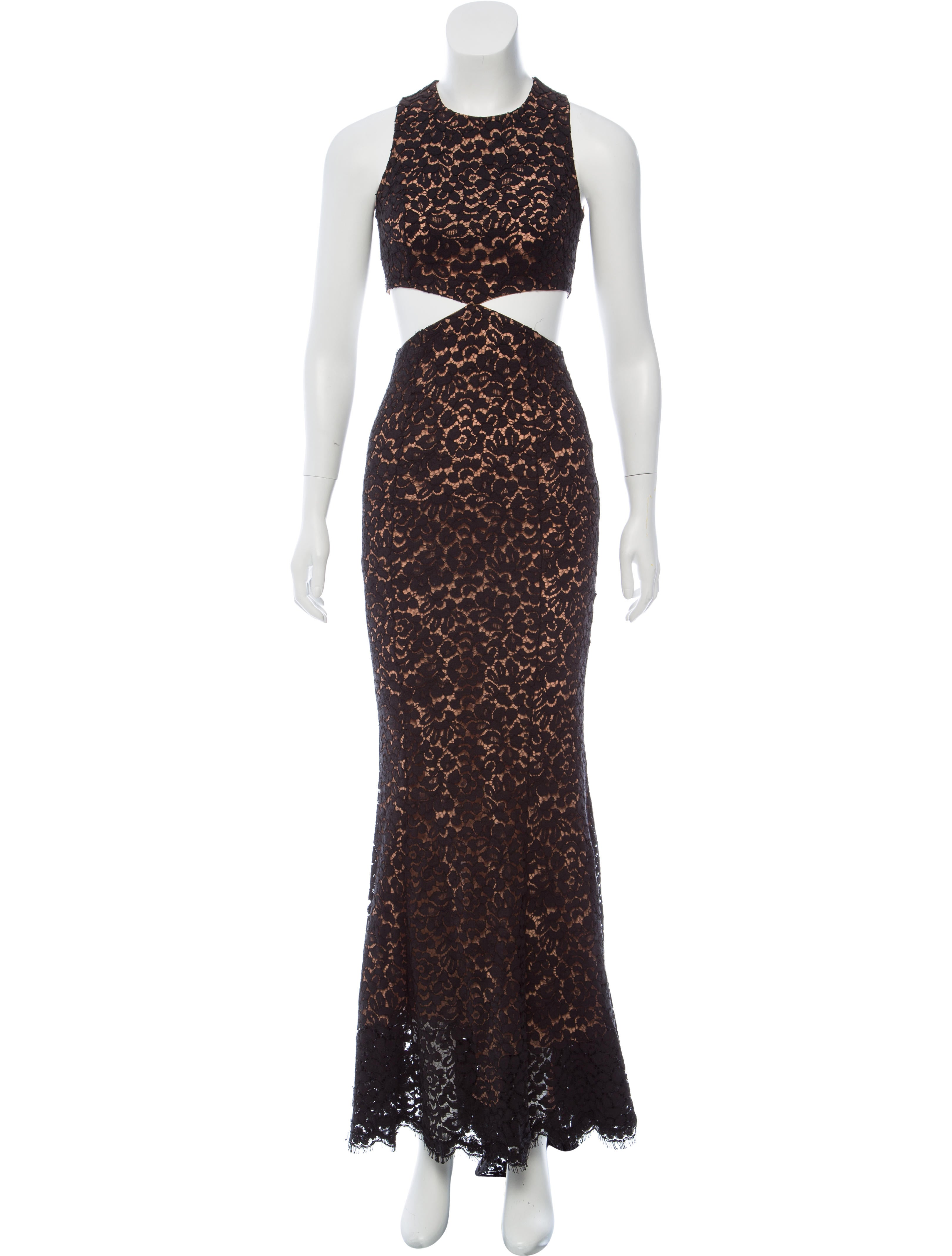 Michael Kors Lace Evening Dress w/ Tags - Clothing - MIC58307 | The ...