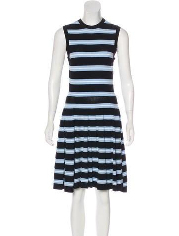 Michael Kors Striped Sleeveless Dress w/ Tags None