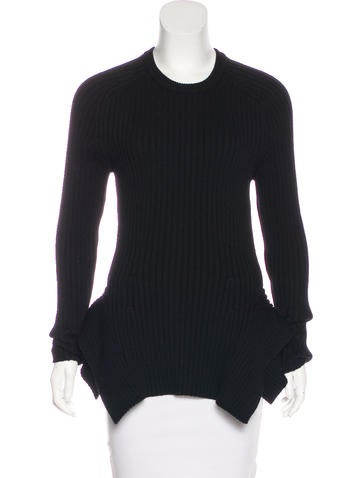 Michael Kors Wool Asymmetrical Sweater None