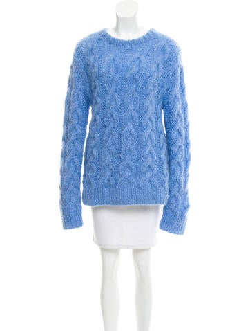 Michael Kors Mohair Cable Knit Sweater w/ Tags None