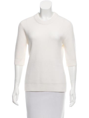 Michael Kors Ribbed Crew Neck Sweater None