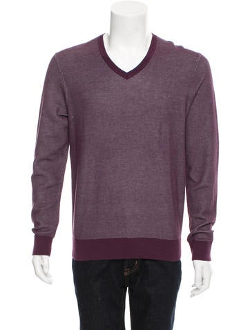 Michael Kors Knit V-Neck Sweater w/ Tags None