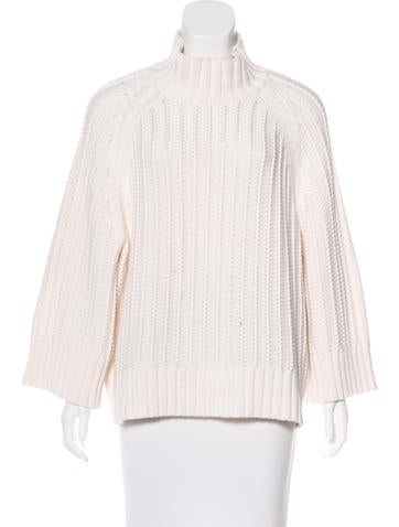 Michael Kors Mock Neck Knit Sweater None