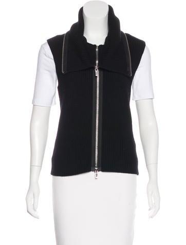 Michael Kors Wool Knit Vest None