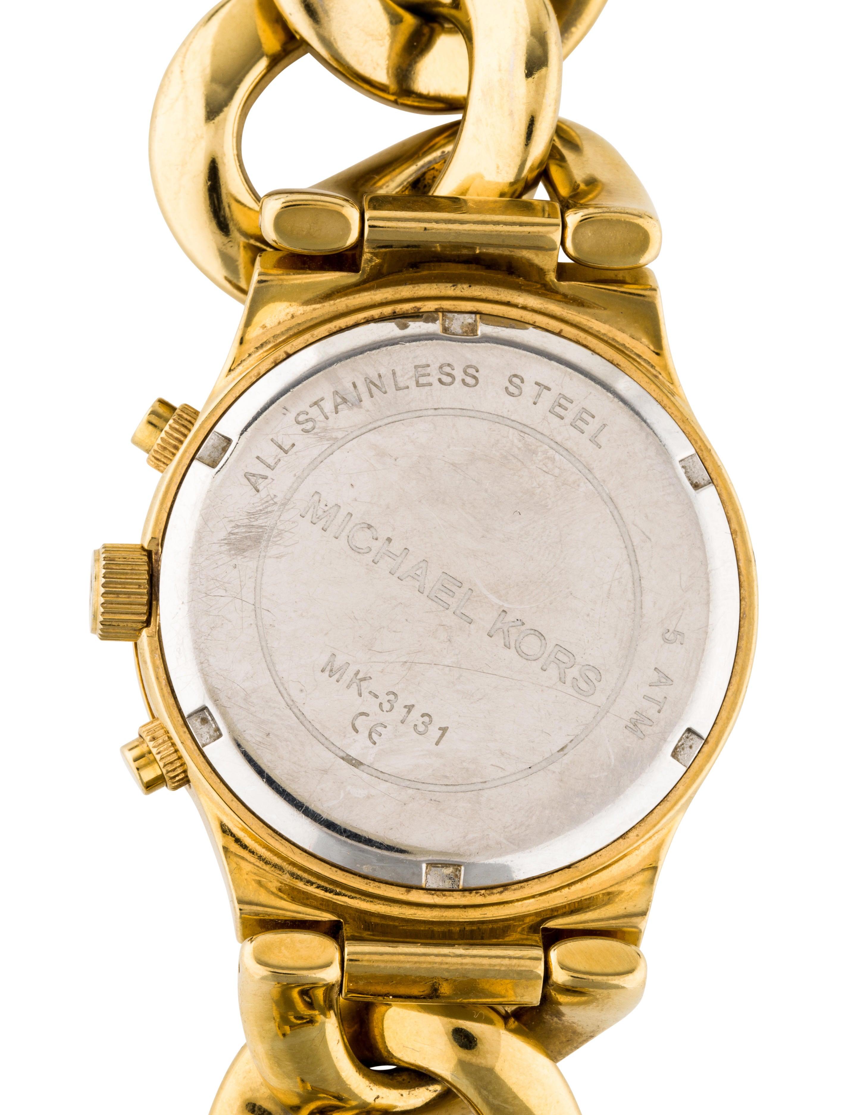 Michael Kors Runway Twist Watch Bracelet Mic59802 The Realreal 3131
