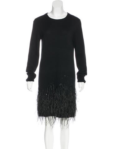 Michael Kors Embellished Cashmere Dress w/ Tags None