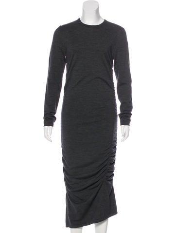 Michael Kors Wool-Blend Dress None
