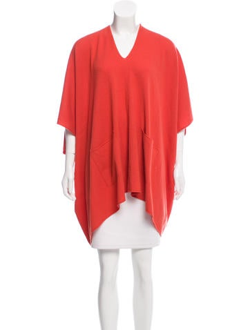 Michael Kors Cashmere Short Sleeve Poncho w/ Tags None