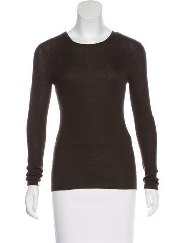 Michael Kors Long Sleeve Knit Top None