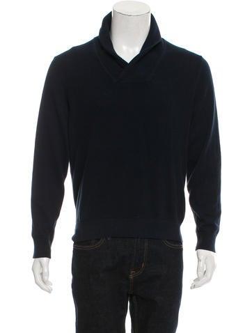 Michael Kors Rib Knit V-Neck Sweater None