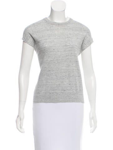 Michael Kors Linen Sleeveless Sweater None