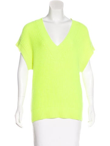 Michael Kors Knit Cashmere Vest None
