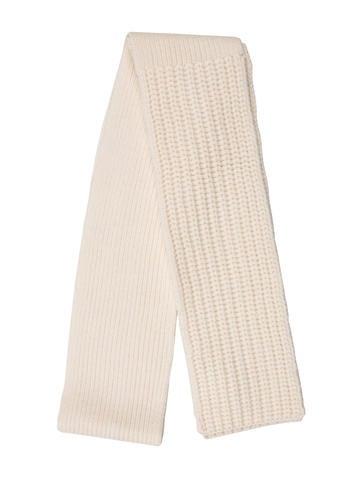 Michael Kors Wool Rib Knit Scarf None