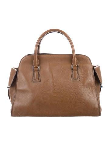 Leather Gia Satchel