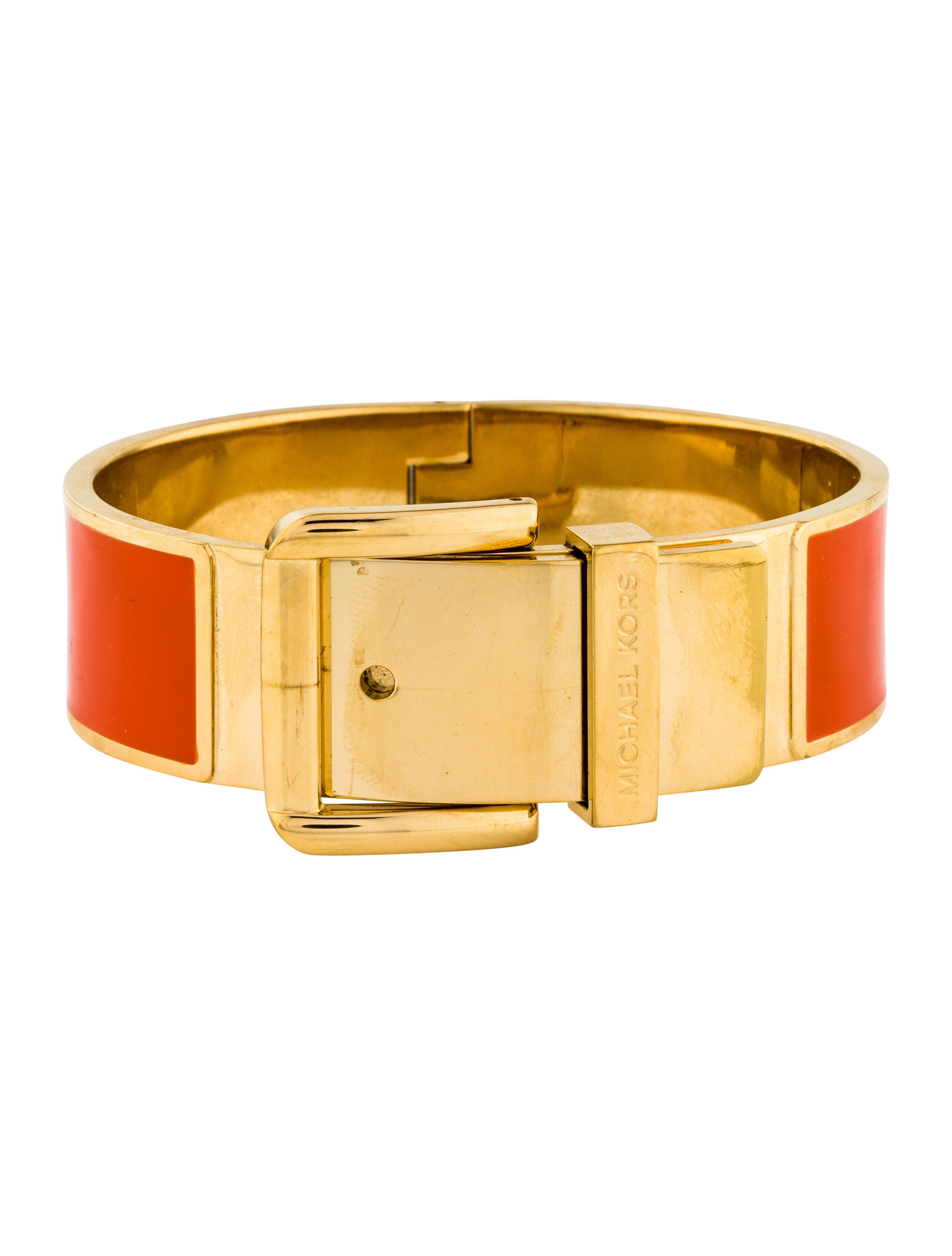 Enamel Buckle Bracelet