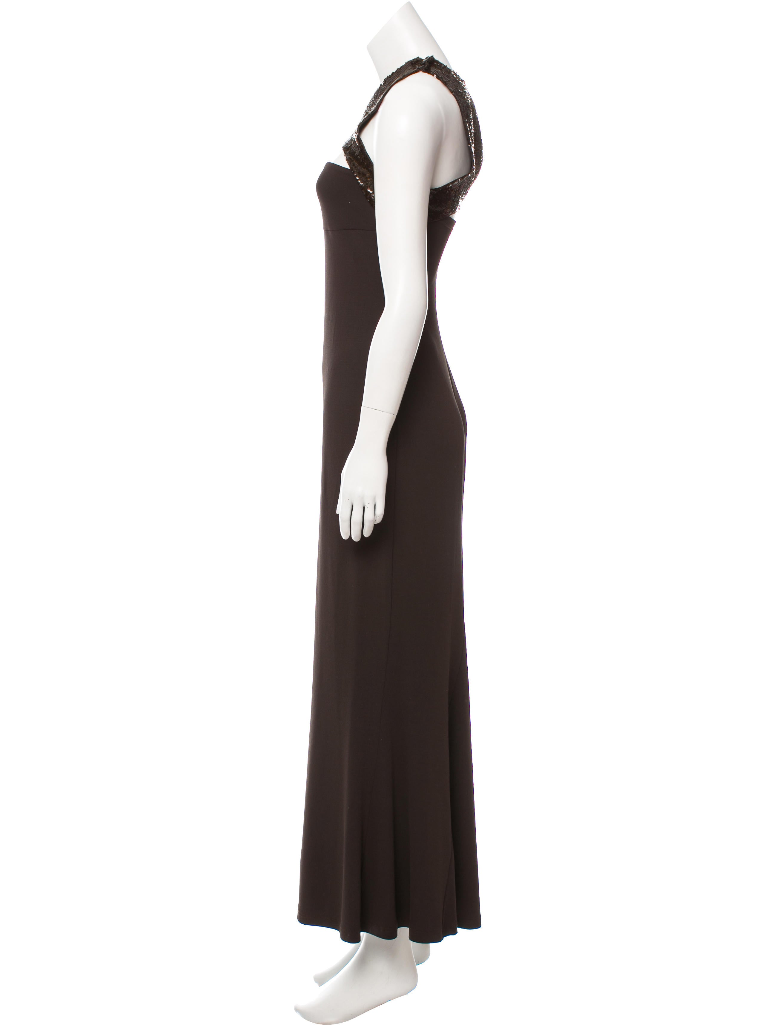Michael Kors Sequin Evening Dress - Clothing - MIC62890 | The RealReal