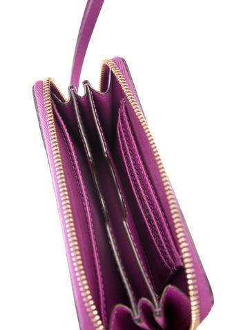 Leather Zip Wallet