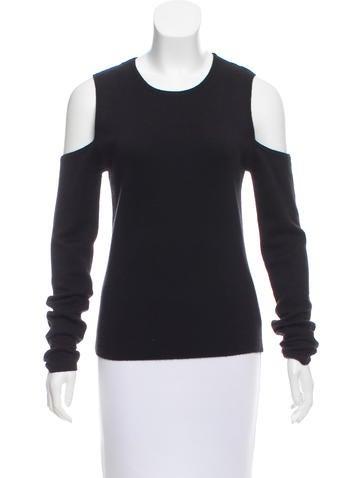 Michael Kors Cashmere Cold Shoulder Sweater None