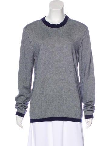 Michael Kors Striped Knit Sweater None