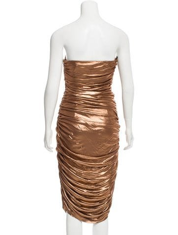 Ruched Cocktail Dress